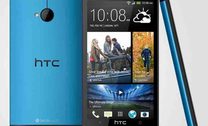 Blue HTC One M7