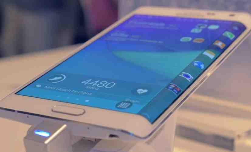Samsung Galaxy Note Edge close