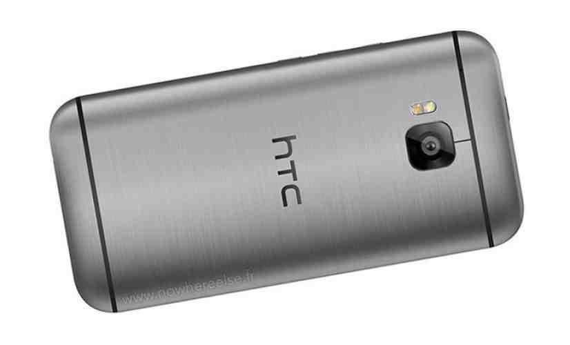 HTC One M9 rear render leak