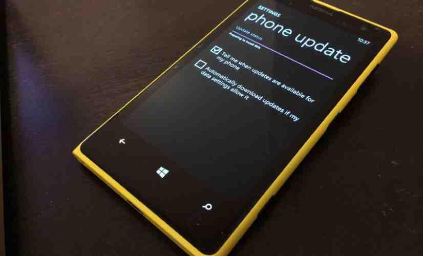 Nokia Lumia 1020 update