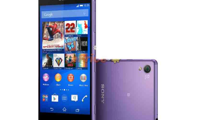 Sony Xperia Z3 Purple Diamond Edition official