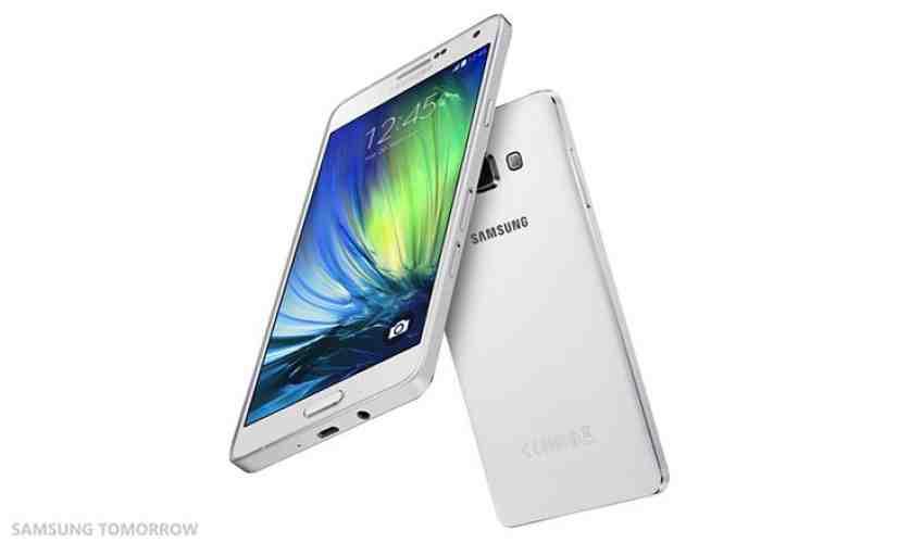 Samsung Galaxy A7 white official