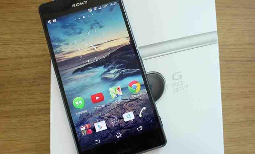 Sony Xperia Z3 close