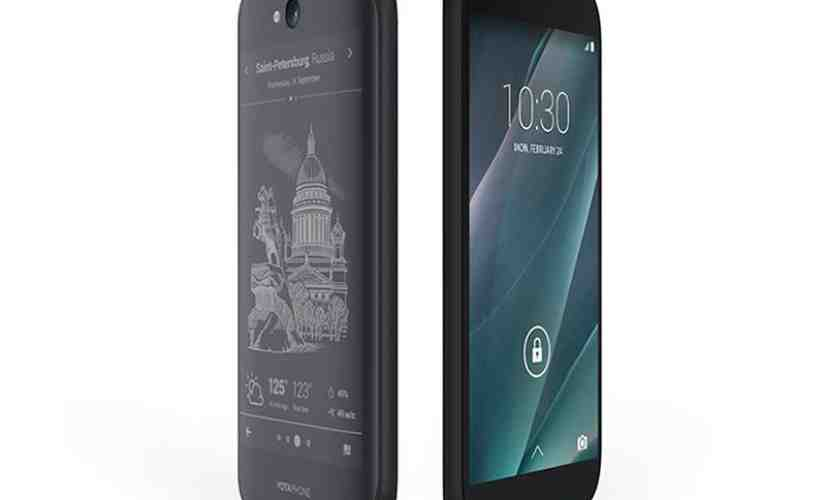 YotaPhone 2 screens