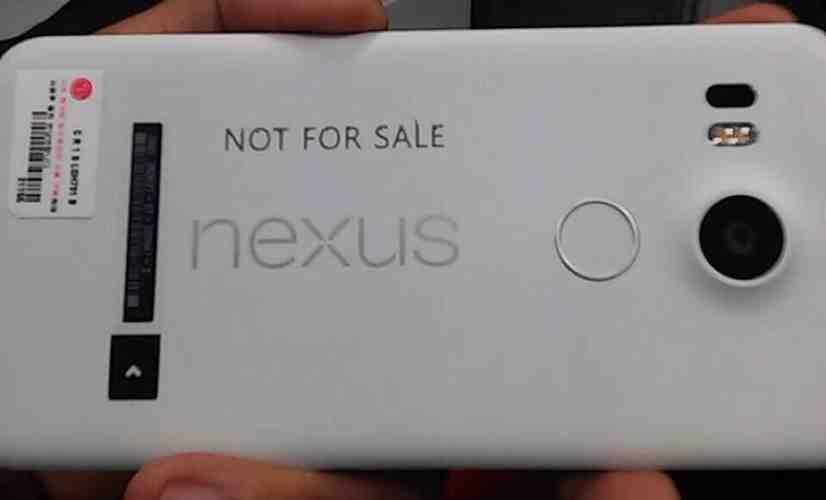 LG Nexus 5 2015 hands on leak