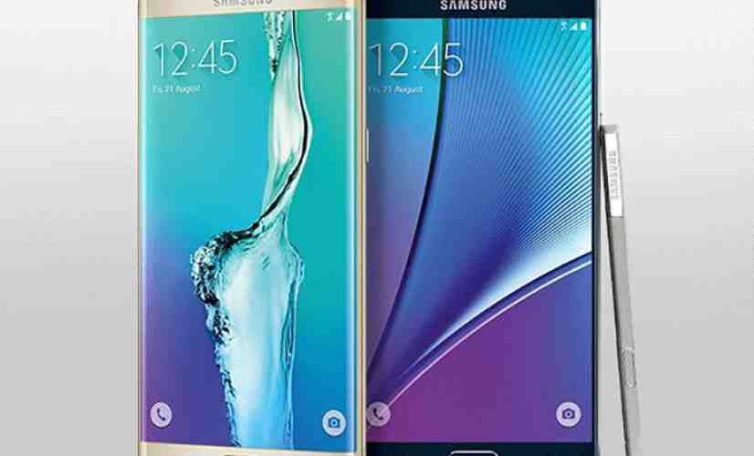 Samsung Galaxy Note 5, S6 edge+ official