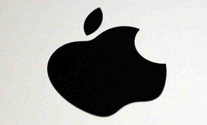 Apple logo iPad rear