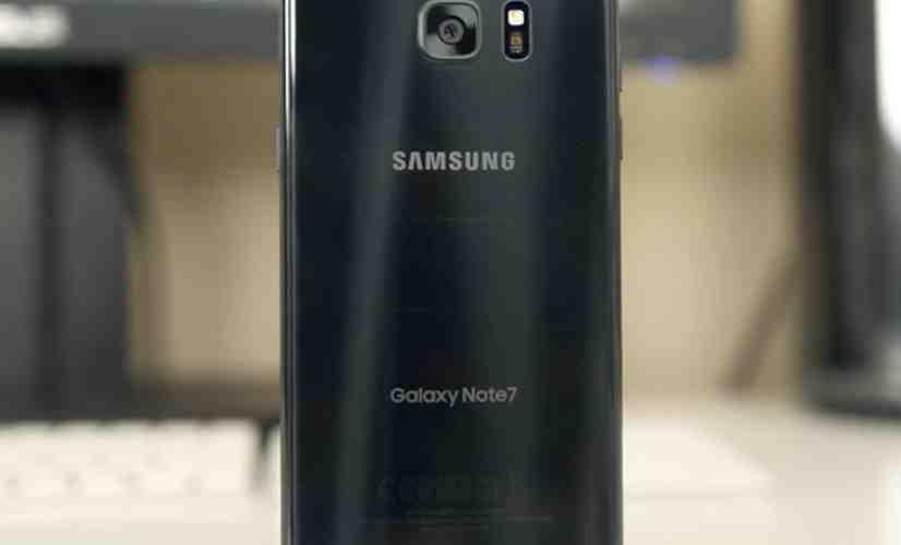 Samsung Galaxy Note 7 rear