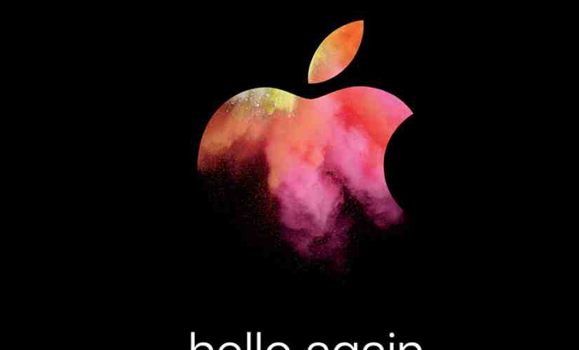 Apple event October 27