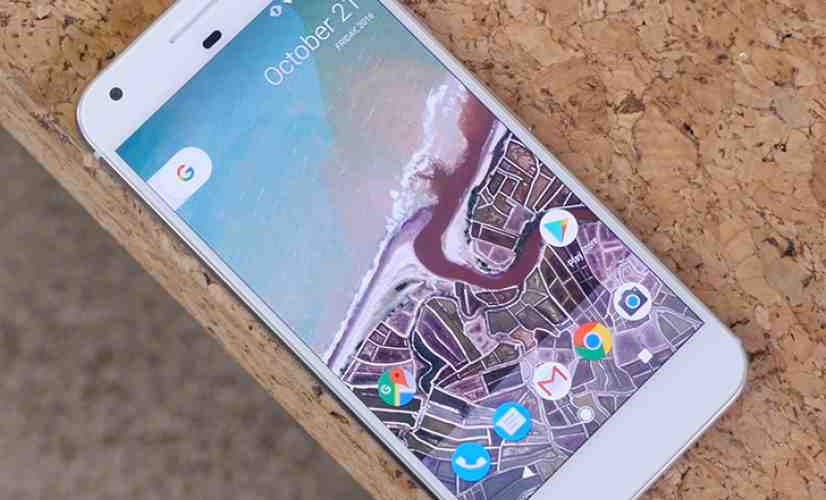 Google Pixel XL laying