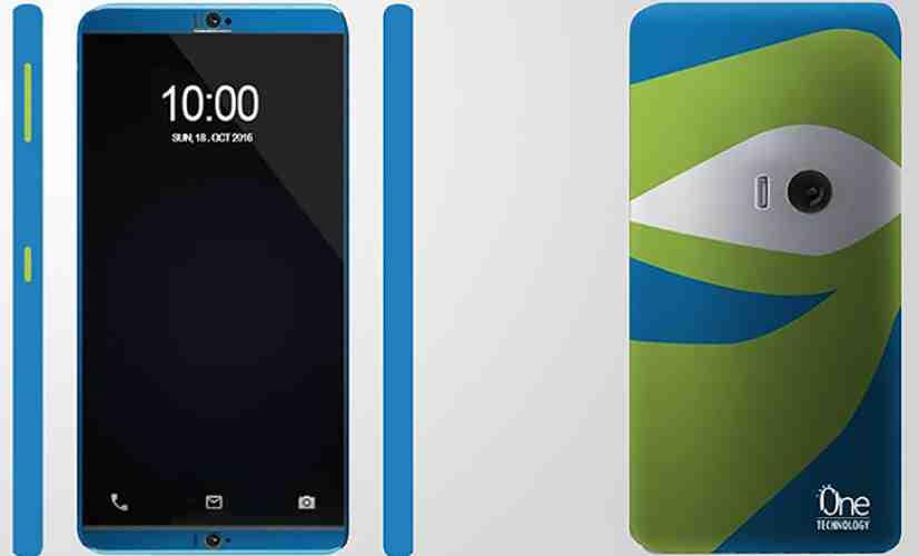 ZTE Project CSX Eye-Tracking, Self-Adhesive Phone