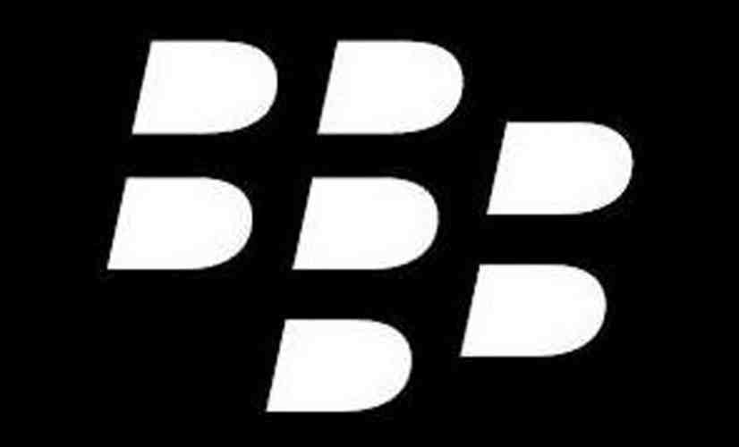 BlackBerry logo rear