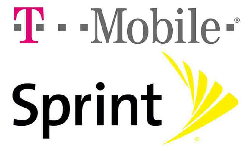 T-Mobile Sprint logos