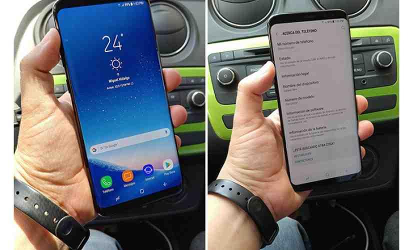 Samsung Galaxy S8+ leak