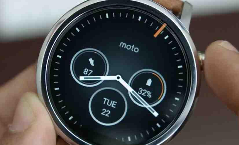 Moto 360 Gen 2