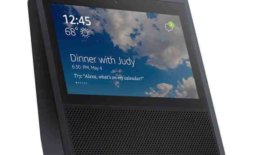 Amazon Echo built-in touchscreen