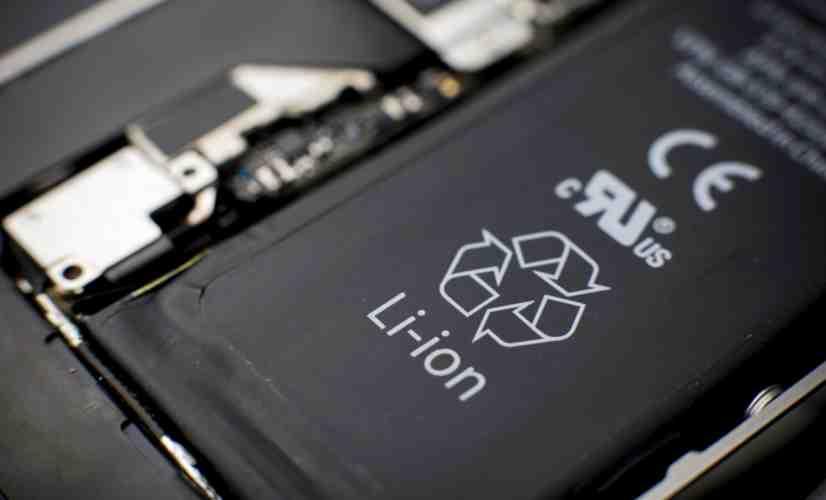 smartphone battery