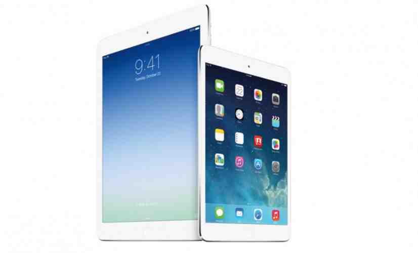 Apple iPad mini and iPad Air
