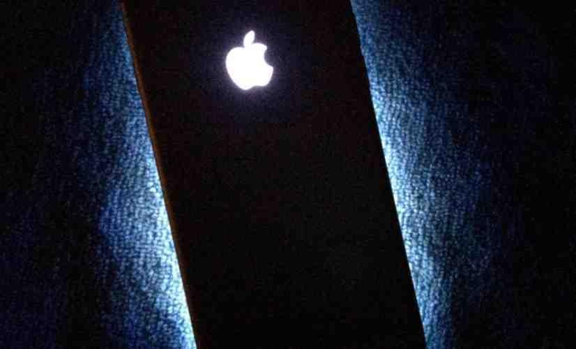 Apple iPhone illuminated logo