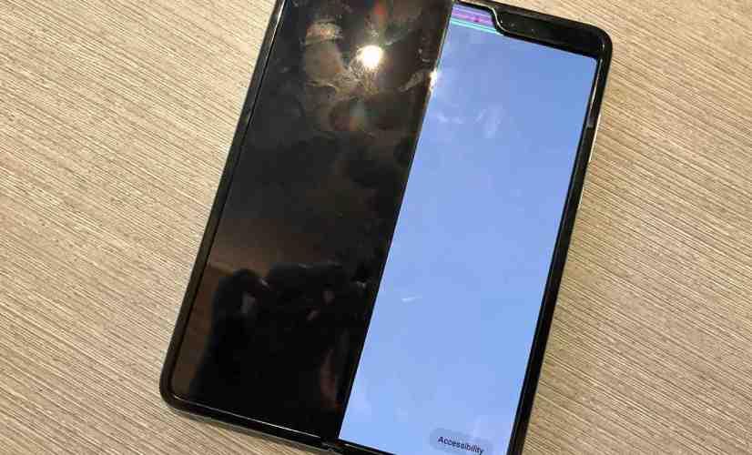 Samsung Galaxy Fold broken