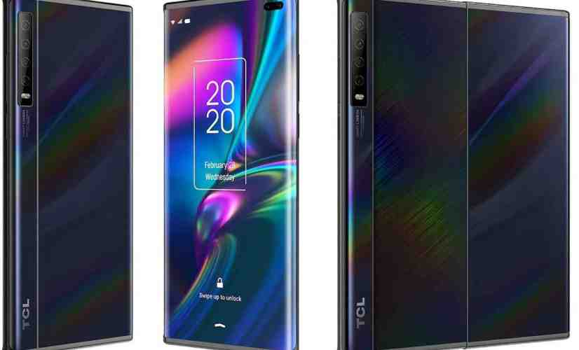 TCL concept slide-out phone