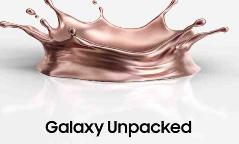 Galaxy Note 20 event