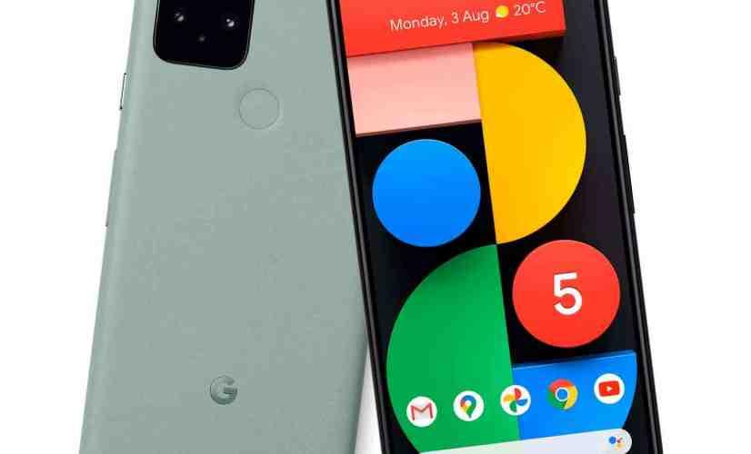 Google Pixel 5 green leak