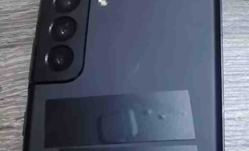 Galaxy S21+ camera bump