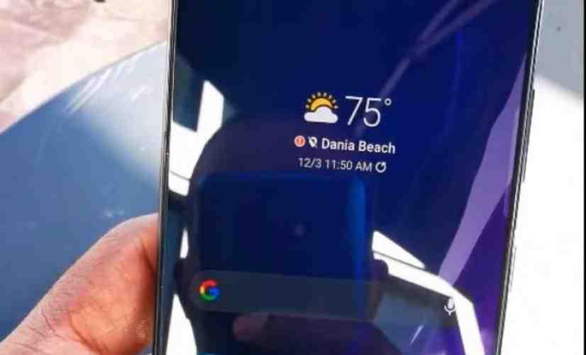 Galaxy S21+ video leak