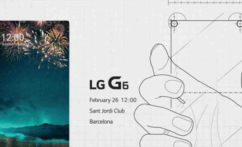 LG G6 invitation