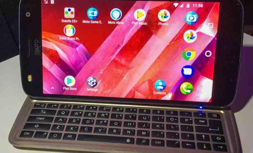 Livermorium Slider Keyboard Moto Mod