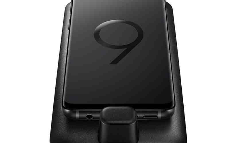 Samsung Galaxy S9 DeX Pad image leak