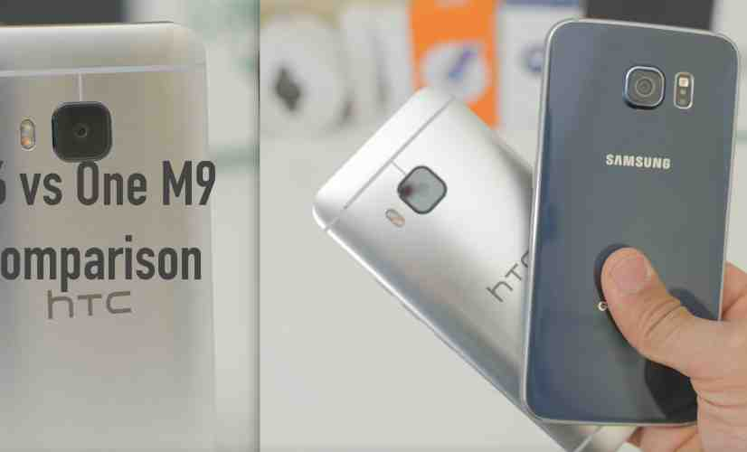 Samsung Galaxy S6 vs HTC One M9: Comparison