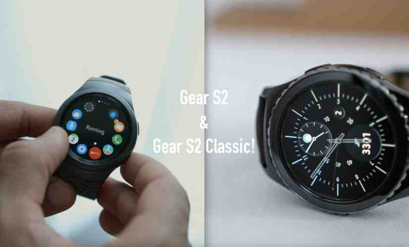Samsung Gear S2 & S2 Classic Impressions!