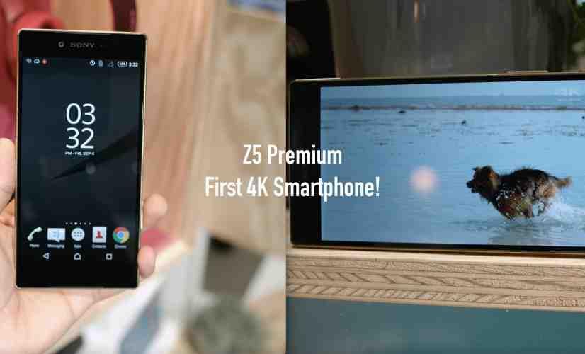 First 4K Smartphone! (Sony Xperia Z5 Premium)