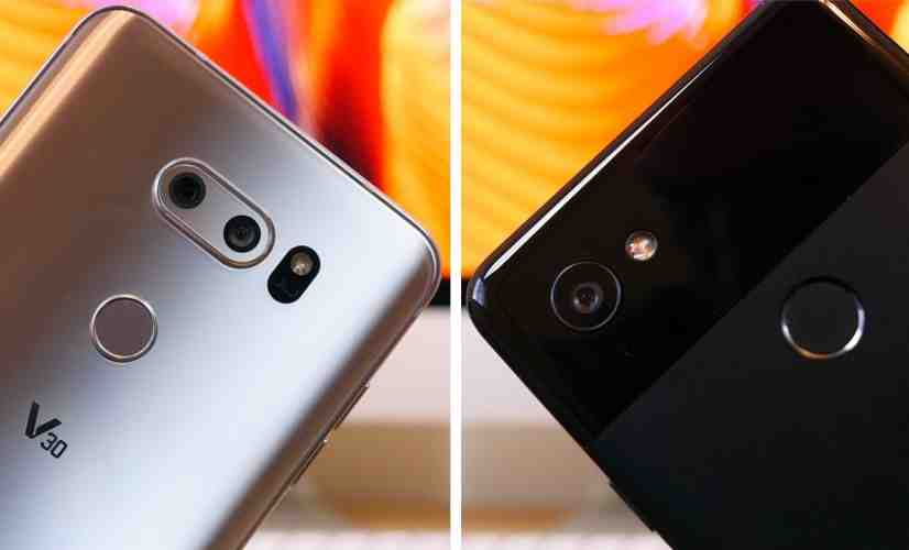 LG V30 vs Pixel 2 XL - PhoneDog