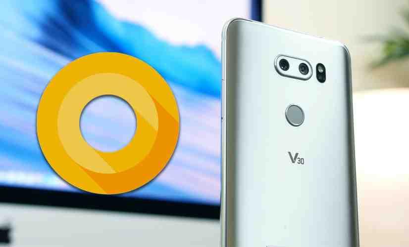 Android 8.0 Oreo On LG V30 - PhoneDog