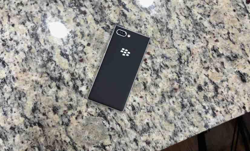 BlackBerry KEY2 Silver Impressions