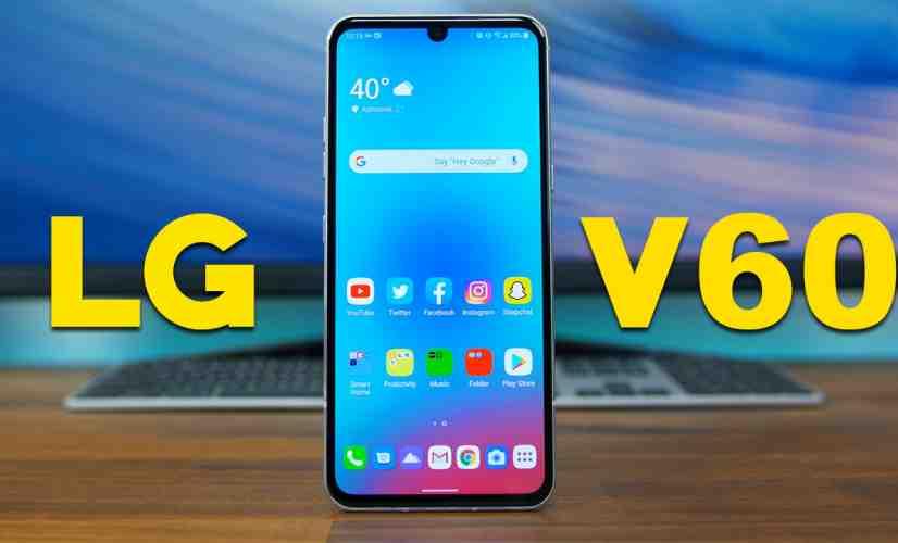 LG V60 ThinQ 5G: First Impressions