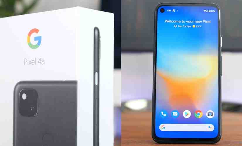 Google Pixel 4a Unboxing and First Impressions