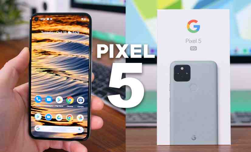 Google Pixel 5 Unboxing and First Impressions