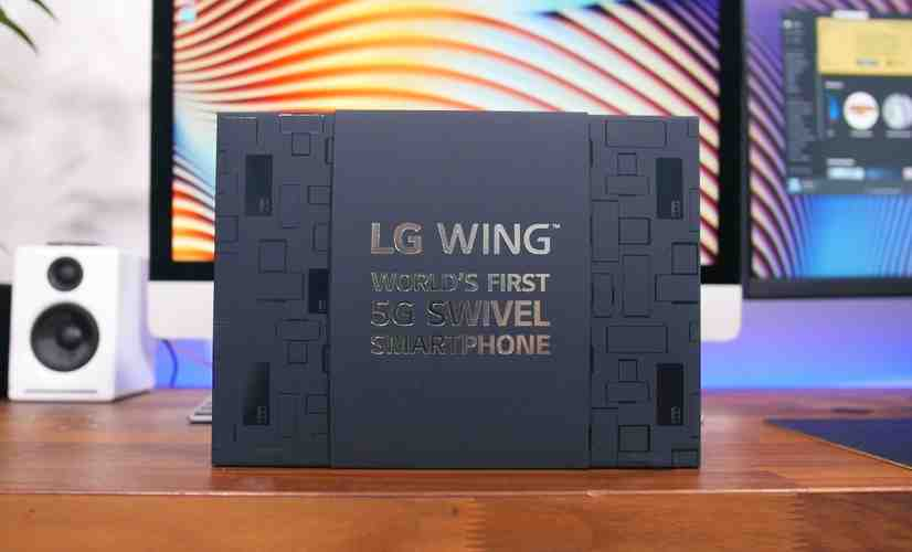 LG Wing Unboxing: The World's First 5G Swivel Smartphone