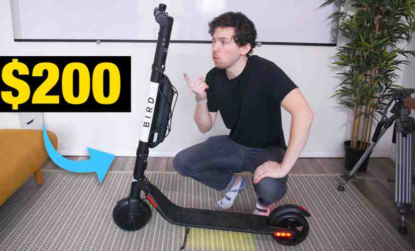 I Bought a $200 BIRD Electric Scooter