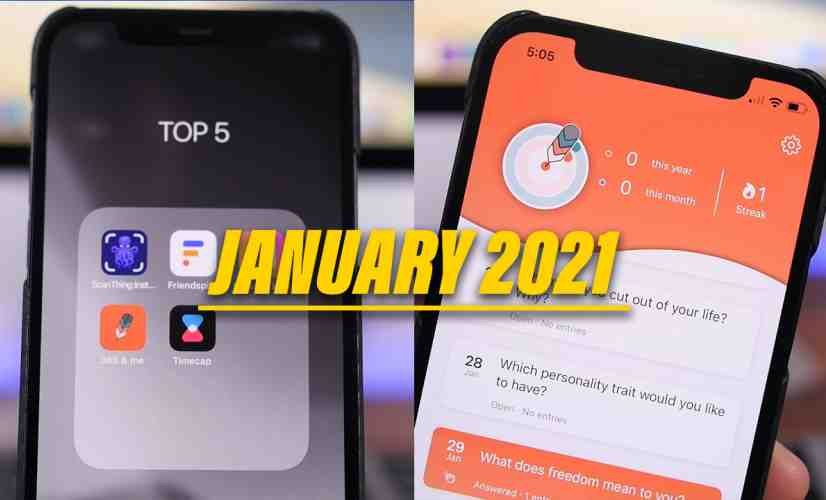 TOP 5: Best iPhone Apps of January 2021!