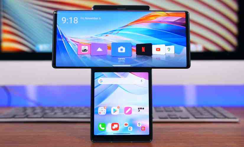 The Last LG Flagship Smartphone...?