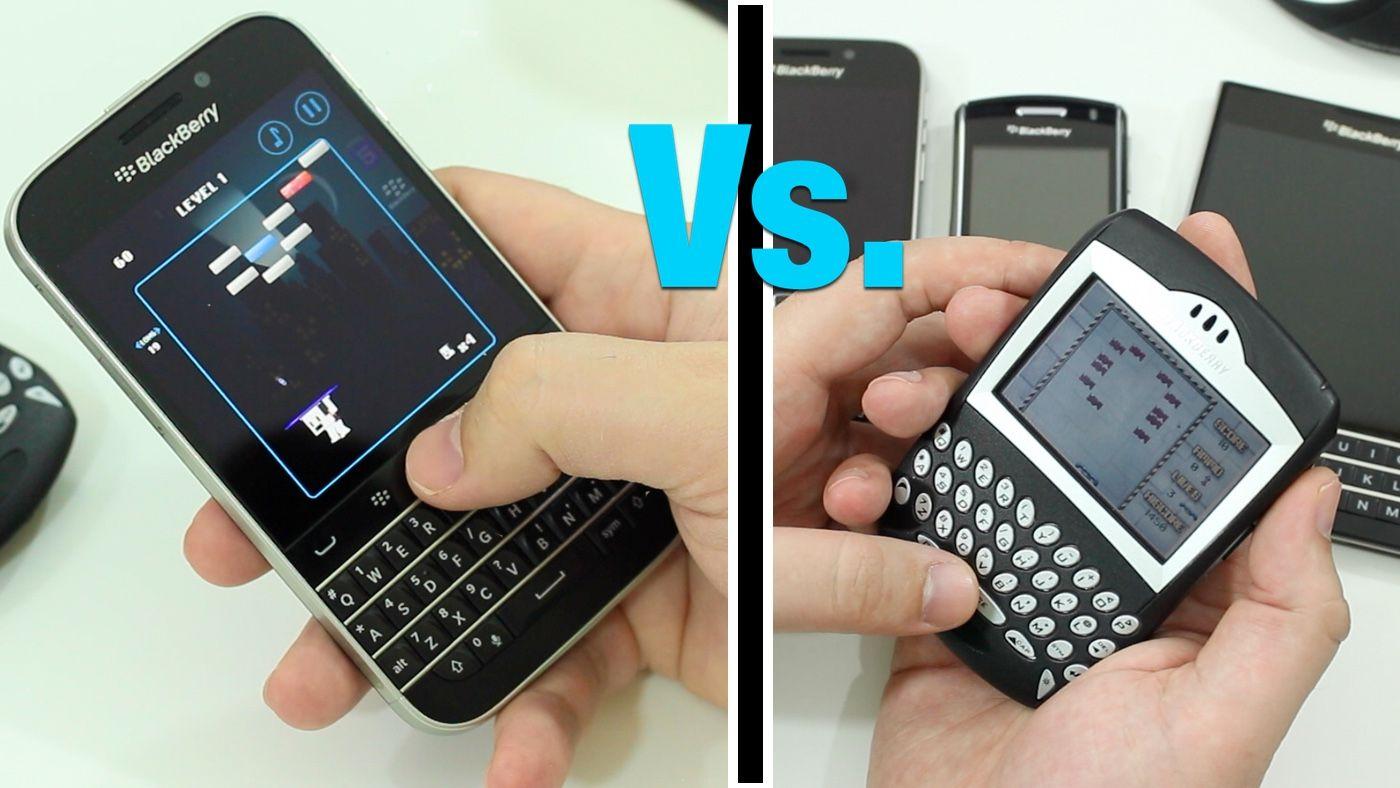 Blackberry Brickbreaker Old Vs New It S Back But Is
