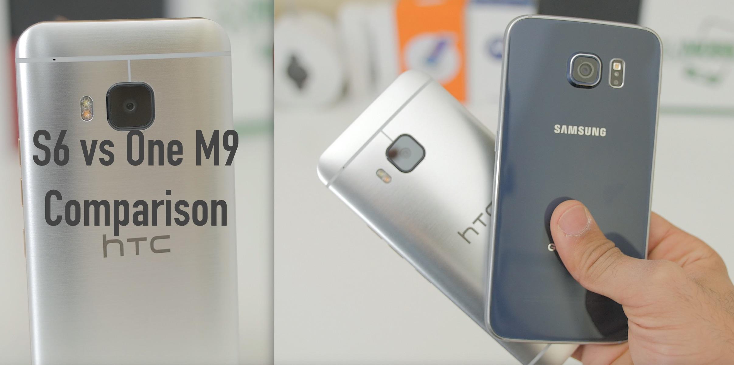 Samsung Galaxy S6 vs HTC One M9: Comparison