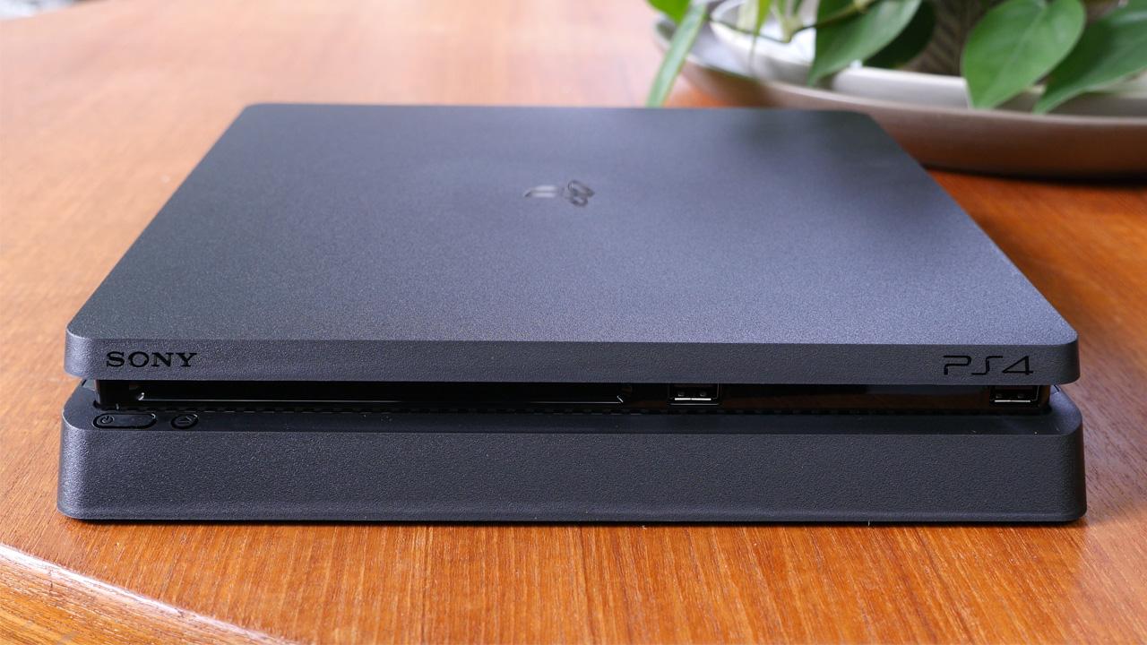 sony playstation 4 slim unboxing setup and impressions phonedog. Black Bedroom Furniture Sets. Home Design Ideas