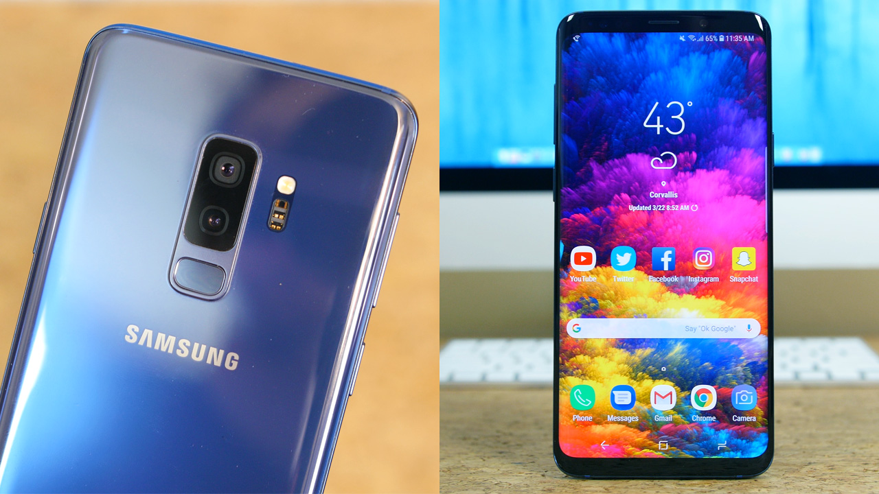Samsung Galaxy S9+ Unboxing and First Impressions
